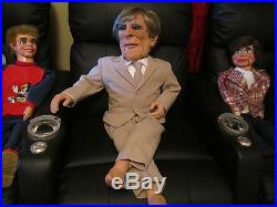 Amazing! 1950's Larry N. Frost Ventriloquist Figure Dummy Puppet Doll Prop Rare