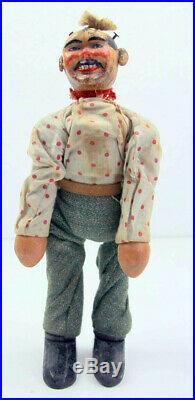 Antique 1910s Schoenhut Humpty Dumpty Circus Wooden figure clowns/rare animals+