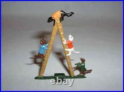 Antique Hans Heinrichsen German Flat Lead Toy Circus Figures