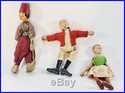 Antique Schoenhut Humpty Dumpty Circus Tent And Many Figures