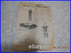 Automan Action Figure Acamas Toy Vintage 80's rare on card