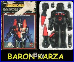 BARON KARZA OTTIMO Con scatola Originale Micronauti Micronauts Action Figure