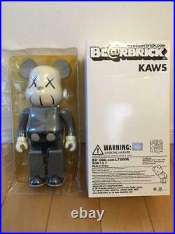 BE@RBRICK 400% Kaws Medicom Toy 2002 Grey LTD005 vintage rare figure from Japan