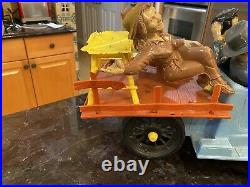 BEVERLY HILLBILLIES 1963 IDEAL TOYS 22 TRUCK With5 FIGURES