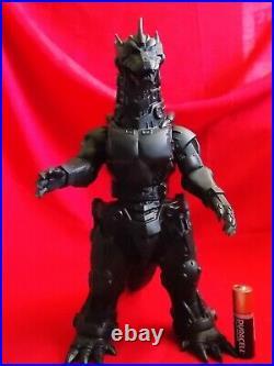 BIG Vintage BLACK MECHA GODZILLA 2003 BANDAI Sofubi LTD Figure H9.5 24cm TOY