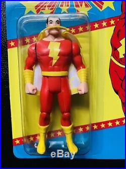BRAND NEW VINTAGE 1985 Kenner Super Powers SHAZAM Sealed 1985 DC MOC Toy Figure