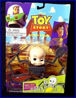 Baby Face Blinking Eye Toy Story Vintage Action Figure Thinkway 1995 Amricon