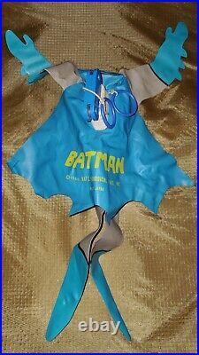 Batman 1966 Ideal Flying Inflatable Figure Rare Vintage 60s