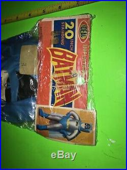 Batman Inflatable IDEAL MIP READ DETAILS VINTAGE NPP FIGURE 20 Old Toy Scarce