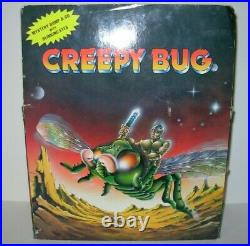 Battery Operated Toy Monster Action Figure Man Creepy Bug Vintage SOMA 1980's 85