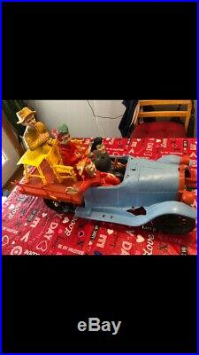 Beverly Hillbillies toy truck, figures, some accessories