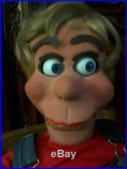 Bill Boley Hillbilly Ventriloquist Dummy doll, puppet professional figure doll