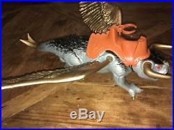 Blackstar Vintage action figure toy Very Rare Triton Flying Bull by Galoob