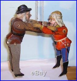 Boer War wrestling figures toy Boer and British Soldier