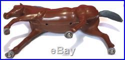 Bonanza American Character Hoss Cartwright Figure & Horse Chub Near Complete