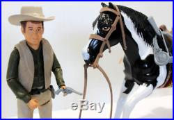 Bonanza Little Joe & His Custom Horse Complete American Character Doll Figures