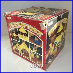 Boxed 1981 Bluebird Big Yellow Teapot Toy No Figures/Furniture Vintage Retro