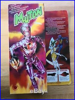 Boxed Denys Fisher MUTON Cyborg Android Action Figure Vintage 1975