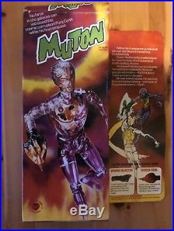 Boxed Denys Fisher Muton Android Cyborg Action Figure Vintage 1975
