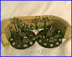 Britain's Floral Garden Lead Figures Nice Set Circa 1930's Wall Flowers