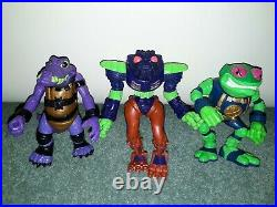 Bucky O'Hare Vintage TV Series Animation Show Action Figure Toy Lot Hasbro 1990