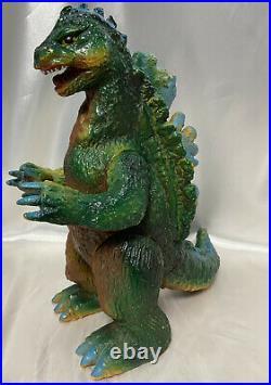 Bullmark GIANT Godzilla vintage sofubi figure Japan kaiju soft vinyl Toho toy