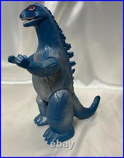 Bullmark Godzilla vintage sofubi figure Japan kaiju soft vinyl Toho toy Marusan