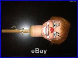 CLOWN ventriloquist figure, puppet, doll, dummy, character, Detweiler, Vintage