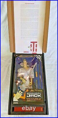 Cartoon Network Samurai Jack Warrior Action Figure Toy Doll RARE NIB Vintage IOB