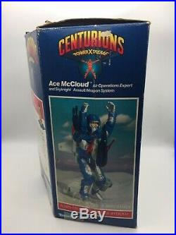 Centurions ACE McCLOUD Action Figure Complete BOXED 1986 Kenner Toy Vintage