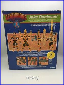 Centurions JAKE ROCKWELL Action Figure Complete BOXED 1986 Kenner Toy Vintage