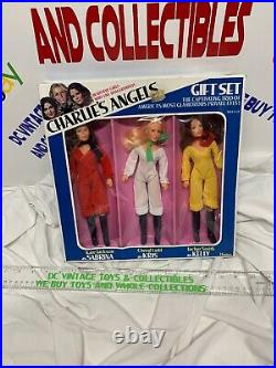 Charlie's Angels Gift Set Hasbro 4864 Vintage 1977 Doll Toy Figure MIB -NEW