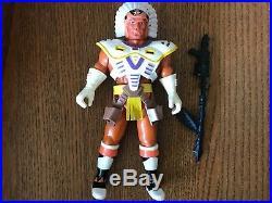 Chief Iron Lance Cosmic Cowboys 80s vintage figure toy Bravestarr KO RARE
