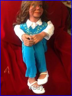 Christy Professional Ventriloquist Figure Puppet