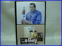 Clint Walker CHEYENNE Western TV Show Action Figure Signed L. E #35/200