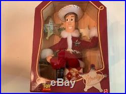 Collectible Holiday Hero Woody, Toy Story, vintage 1999