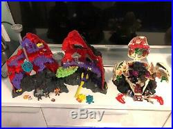 Collection Of Mighty Max Bluebird Toys And Figures