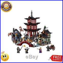 Compatible Ninja 70751 Lepin 06022 blocks Ninja Figure Temple toys