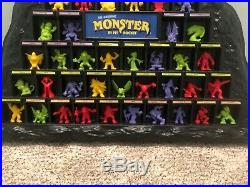 Complete Monster in My Pocket Series 1 Figures and Monster Mountain Display Case