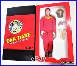 DAN DARE 12 ACTION FIGURE 2010 Day2Day Future Space Pilot Eagle 2000AD 2000s