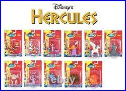 Disney Hercules Mini Action Figure Set Lot Toy Mattel Vintage Movie VHS 90s RARE