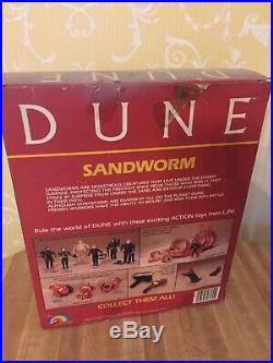 Dune Sandworm Toy Figure In Box Vintage