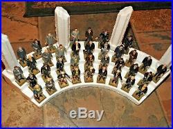 ENTIRE SET + ORIGINAL DISPLAY, 36 Marx Presidents, America action figure 1960's