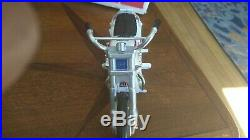 Early 2nd Edition EVEL KNIEVEL STUNT CYCLE Figure, Launcher, Instructions & BOX