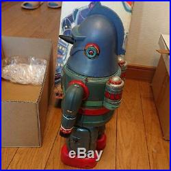 Electric Tetsujin 28 Tin Toy Robot Figure Vintage from Japan Free Shipping