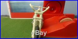 Evel Knievel 70s Stunt Cycle Bike & Action Figure Evil Original Vintage Toy Set