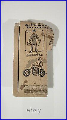 Evel Knievel Action Figure Blue Suit