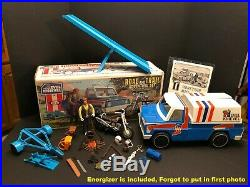 Evel Knievel Road and Trail Adventure Set, Figure, Trail Bike, Energizer, Box