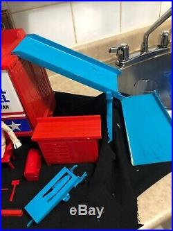 Evel Knievel Scramble Van/figure / Accessories /in Orginal Box