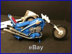 Evel Knievel Sidewinder, Launcher, Figure, Helmet, Belt, Box ULTRA RARE